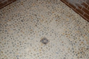 Stone Bottom Shower