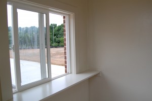 Front Window And Ledge