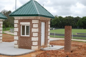 Fully Bricked Right Ticket Booth