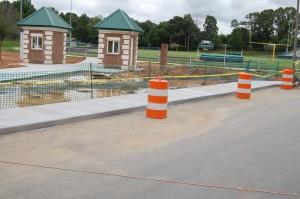 Concrete Sidewalk  Extended