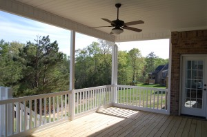 Screen Porch Interior