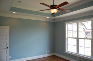 Master Bedroom Trayed Ceiling