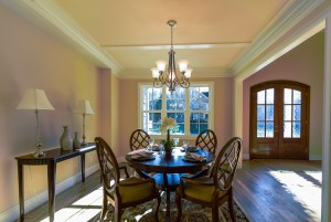 Dining Room Coffered Ceiling