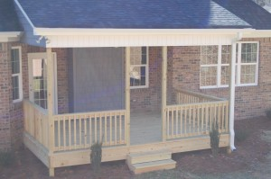 Rear Porch Exterior
