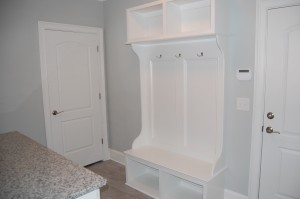 Mud Room Custom Coat Bench
