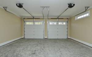Two Car Upper Garage