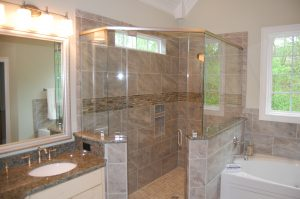 Master Tiled Shower Enclosure
