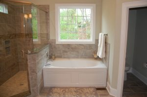 Master Bath Tub Area