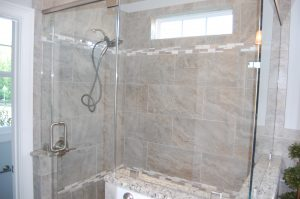 Master Tile Shower Enclosure