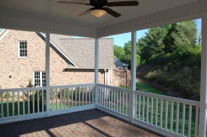 Rear Screen Porch Interior