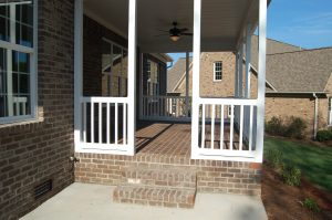 Rear Screen Porch Exterior and Patio