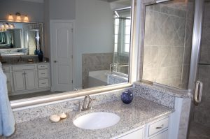 Master Bathroom Her Sink